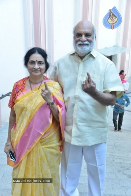 Tollywood Celebrities Cast Their Vote - 10 of 61