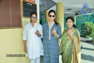 Tollywood Celebrities Cast Their Vote - 13 of 61
