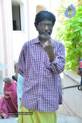 Tollywood Celebrities Cast Their Vote - 17 of 61