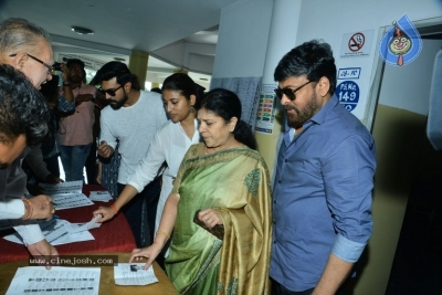 Tollywood Celebrities Cast Their Vote - 19 of 61
