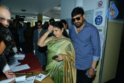Tollywood Celebrities Cast Their Vote - 20 of 61