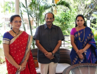TRS MP Kavitha Wishes To Sri Valli Movie Team - 3 of 3