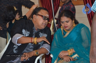 Vasu Vikram Daughter Sandhiya Wedding Reception Stills - 3 of 32