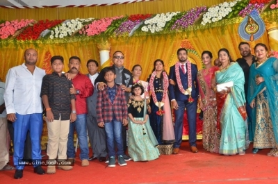 Vasu Vikram Daughter Sandhiya Wedding Reception Stills - 5 of 32