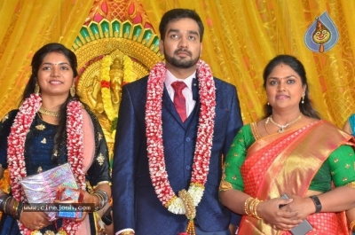 Vasu Vikram Daughter Sandhiya Wedding Reception Stills - 6 of 32
