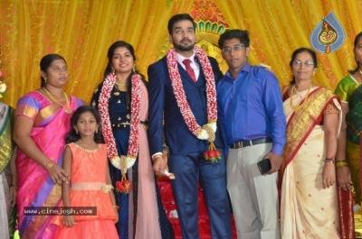 Vasu Vikram Daughter Sandhiya Wedding Reception Stills - 7 of 32