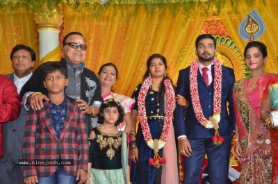 Vasu Vikram Daughter Sandhiya Wedding Reception Stills - 8 of 32