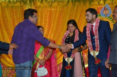 Vasu Vikram Daughter Sandhiya Wedding Reception Stills - 10 of 32