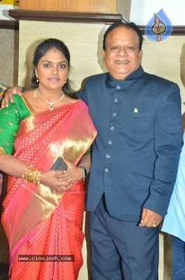 Vasu Vikram Daughter Sandhiya Wedding Reception Stills - 13 of 32