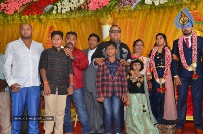 Vasu Vikram Daughter Sandhiya Wedding Reception Stills - 14 of 32