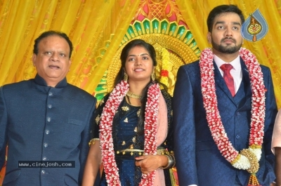 Vasu Vikram Daughter Sandhiya Wedding Reception Stills - 20 of 32