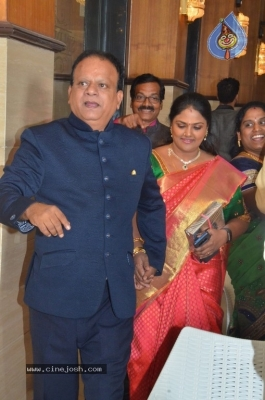 Vasu Vikram Daughter Sandhiya Wedding Reception Stills - 21 of 32