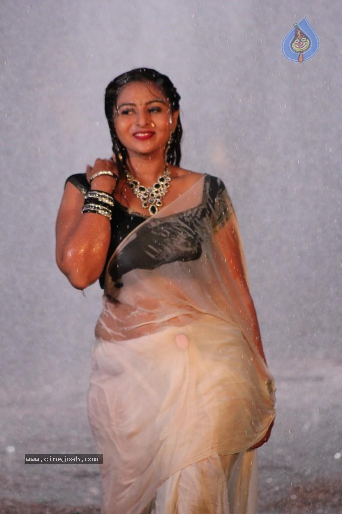 Samvritha Sunil In Saree