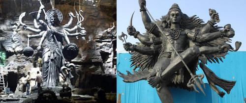 magadheera shiva statue