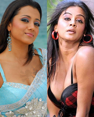 Trisha to fight with Priyamani sex appeal