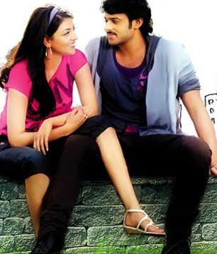 Kajal dropping tears for Prabhas!