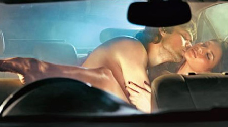 Sex movies in a car