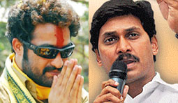 Tarak's friendship with YS Jagan!!!