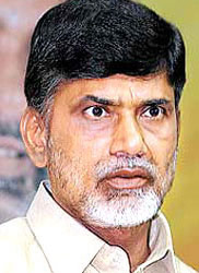 Naidu arrested for holding anti-corruption dharna