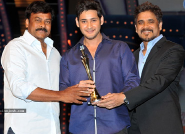 Chiru, Nag with Mahesh Babu
