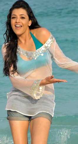 Kajal offered a Beach Party