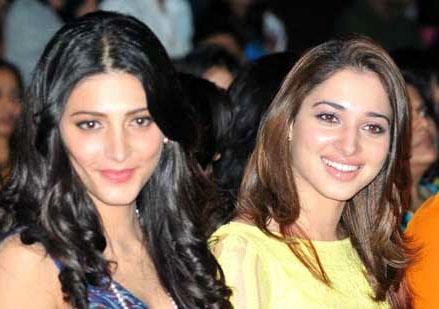 Tamanna & Shruti, The 'Mega' Heroines!