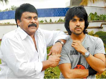 Charan has no time for Daddy!!