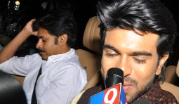 Ramcharan competing with Pawan