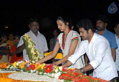 Homage paid to NTR
