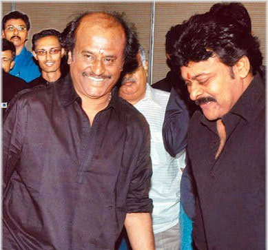 Rajni n Chiru's Support to Sanjay Dutt
