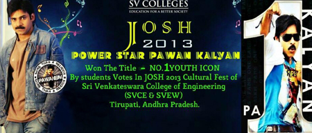 Pawan Dominates All Colleges!