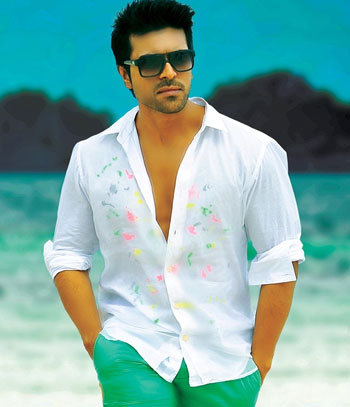 Charan Trying to Outshine Stylish Bunny