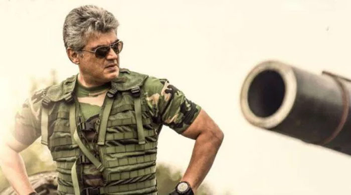 Ajith in Vivegam Movie