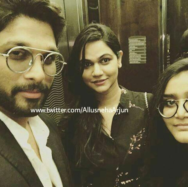 Allu Arjun and Sneha's Visit to Abu Dhabi Mosque