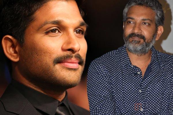 Allu Arjun and SS Rajamouli - Bigger Dreams On Way