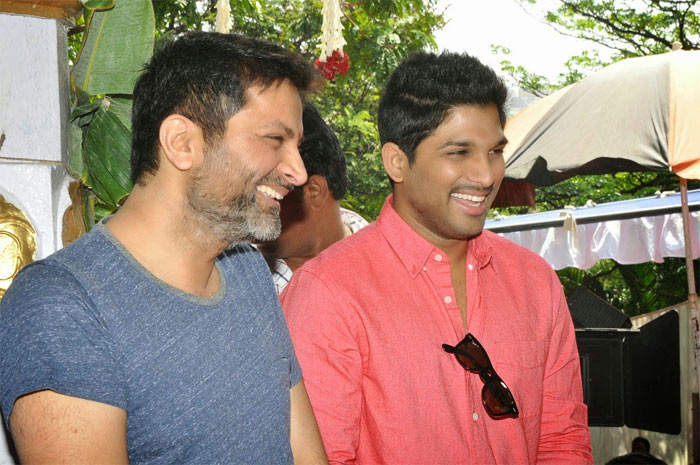 Allu Arjun And Trivikram Srinivas