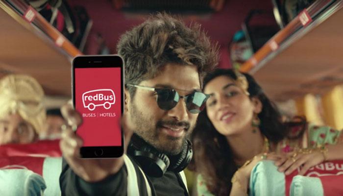 Allu Arjun in Redbus Ad