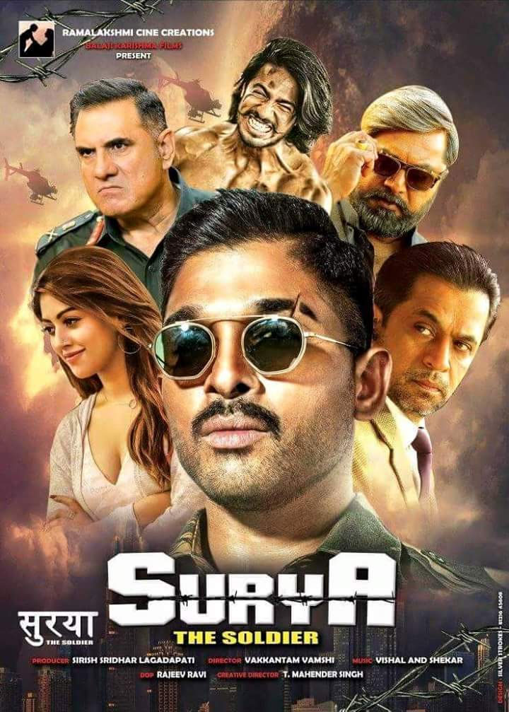 SURYA The Soldier Naa Peru Surya Naa Illu India (2018) UNCUT HDRip 720p 1.7GB [Hindi Org 2.0 – Telugu 2.0]