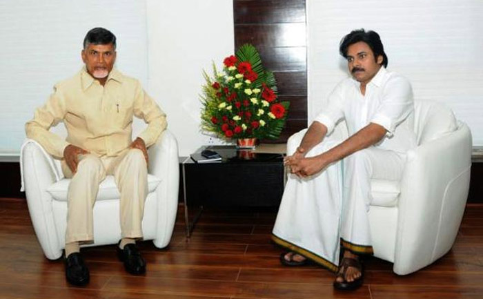 AP CM Chandrababu Naidu and Janasena Chief Pawan Kalyan
