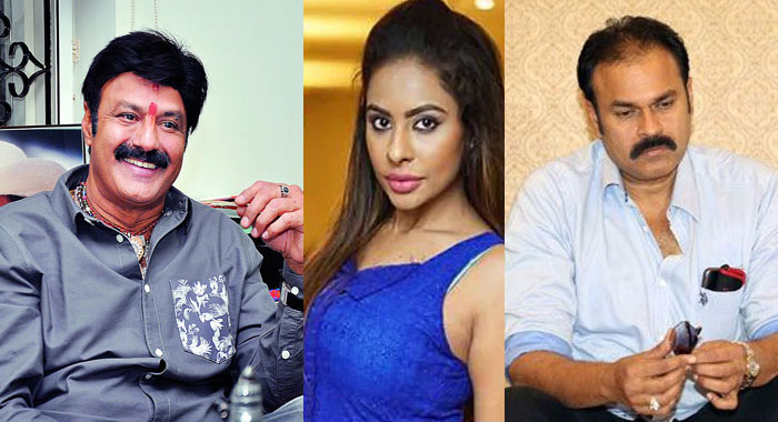 Balakrishna,Sri Reddy And Naga Babu