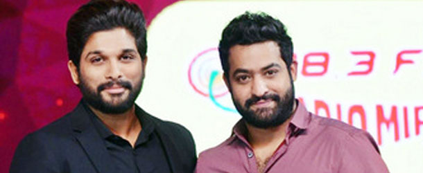 Battle between Allu Arjun and NTR's Fans on Google Searches