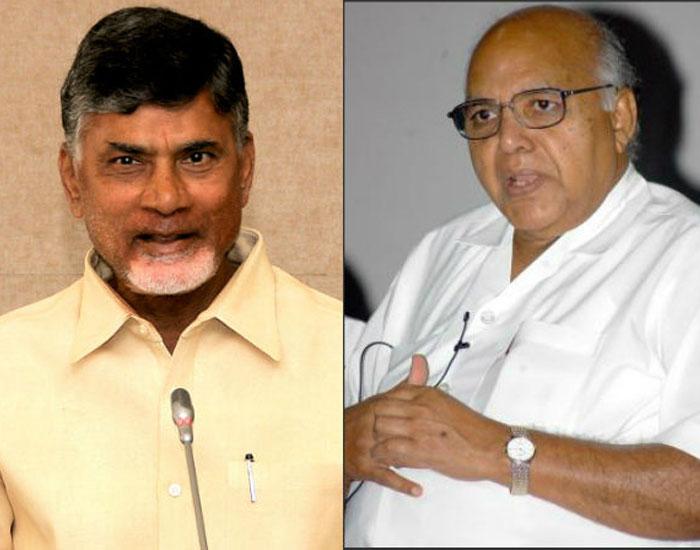 Chandrababu Meets Ramoji Rao
