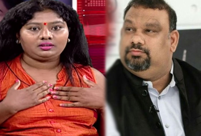 Channel and Kathi Mahesh Blackmailing Me, Says Sunitha