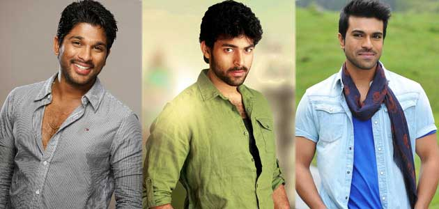 Charan, Allu Arjun to Support 'Kanche'