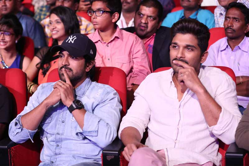 Charan and Allu Arjun's Films No repeat of Them