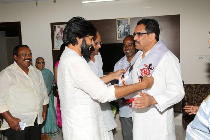 Chegondi Surya Prakash Joins Janasena