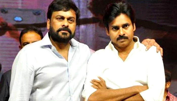 Chiranjeevi And Pawan Kalyan