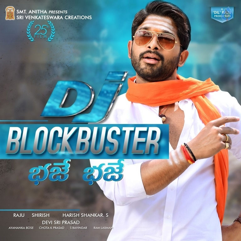 DJ Duvvada Jagannadham Two Days Shares
