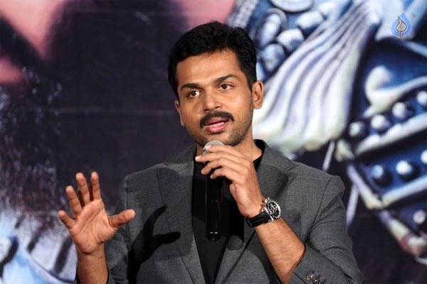 Kaashmora, One More Safe Flick From Karthi in Telugu
