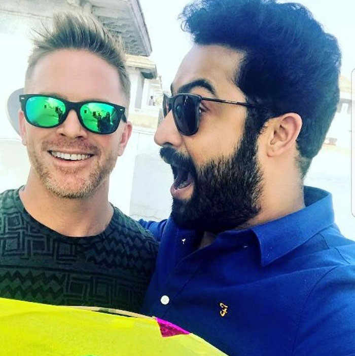 Ntr Trained His Trainer